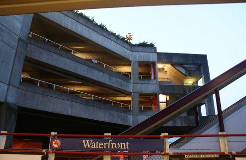 Car Park At Waterfront Station