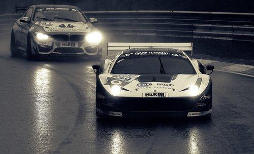 car racing  ferrari  racing car