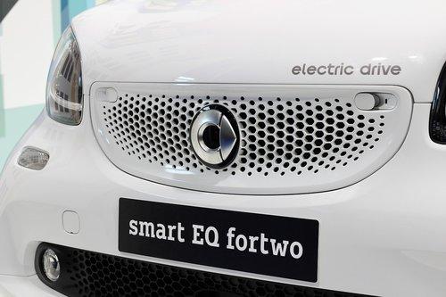 car smart eq fortwo  auto show zagreb 2018  modern technology