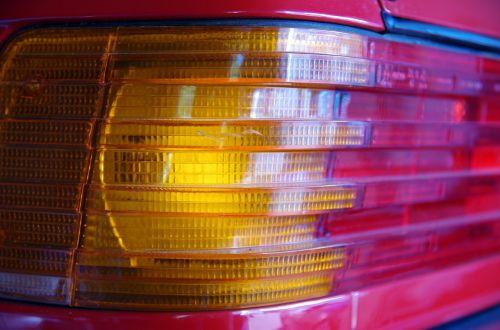 car tail light blinker brake light