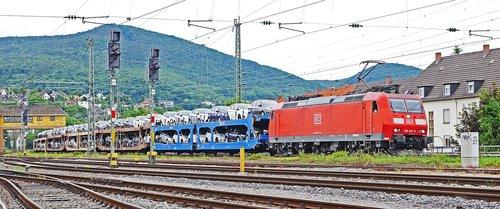 car train  autotransport  new cars