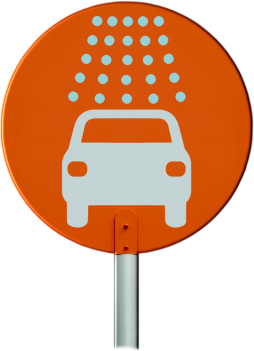 car wash sign auto