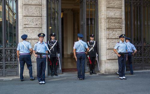 carabinieri honor guard rome