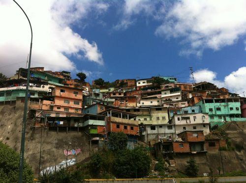 caracas venezuela barriada