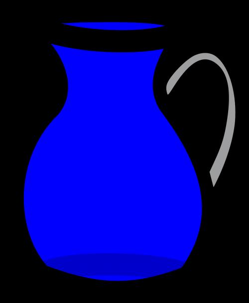 karajas,dekanter,ąsotis,vanduo,puodą,ąsotis,gali,puodelis,alavas,nemokama vektorinė grafika