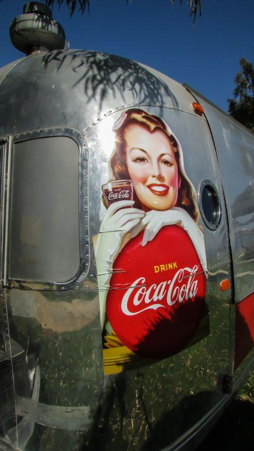 caravan trailer soda fountain