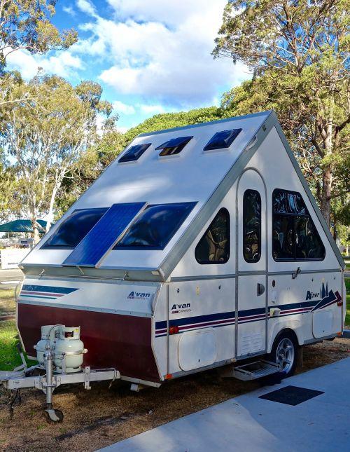 caravan camping rv