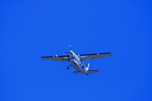 Caravan In Blue Sky