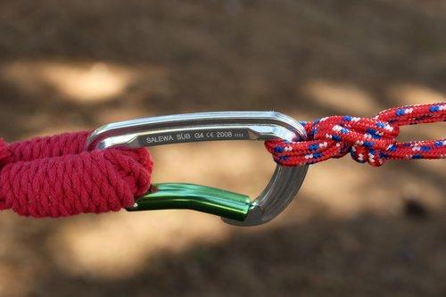 carbine  rope  hammock