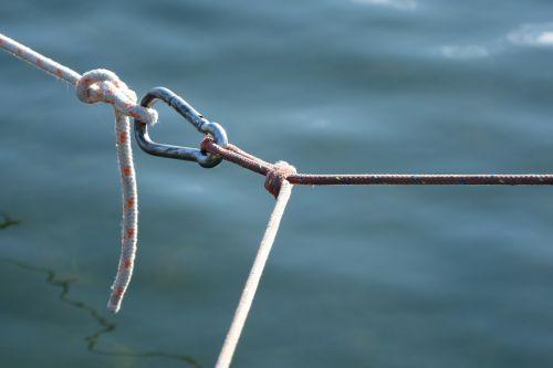 carbine knot connection