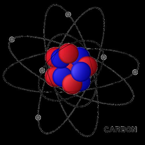 carbon hydrogen atom