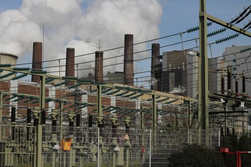 carbon power plant coal fired power plant