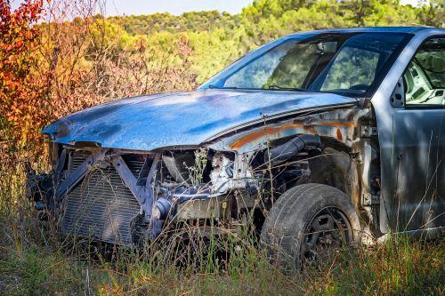 carcass wreck automobile