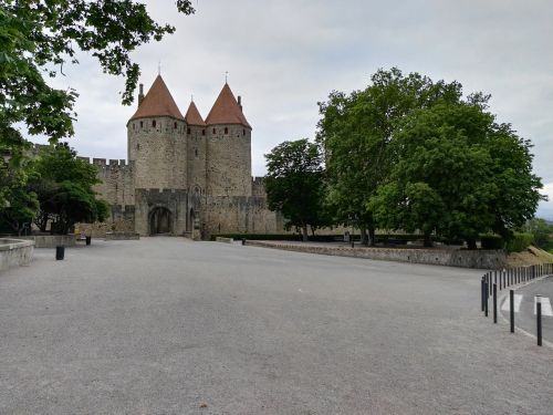 carcassonne medieval city ancient city