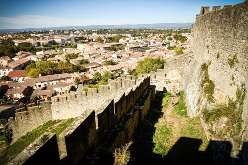 carcassonne medieval aude