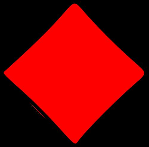 card diamond lozenge