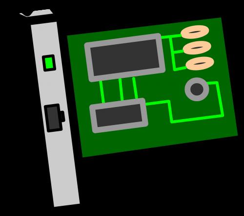 card circuit electronics