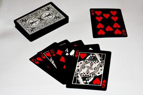 card  game  a deck of cards
