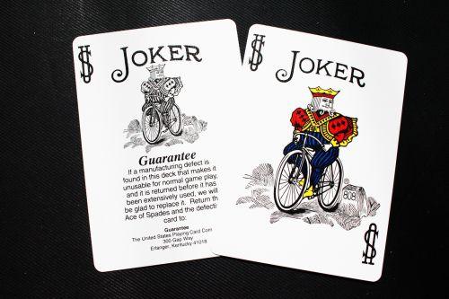 card joker deck