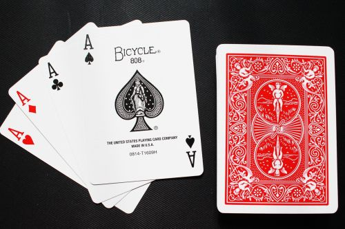 card playing card magic cards