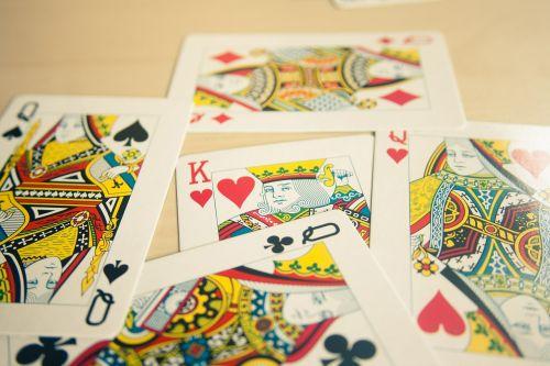 card deck kings queens