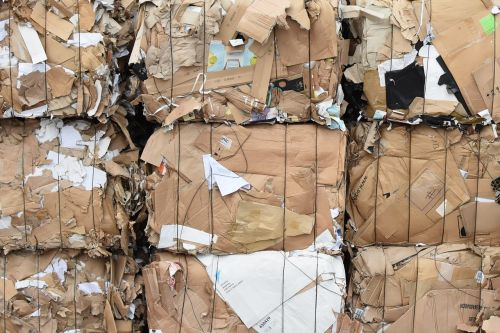cardboard recycle recycling