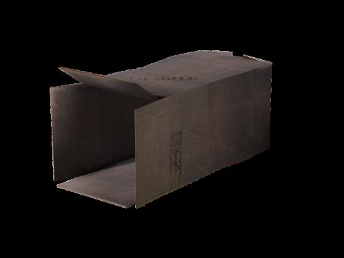 cardboard open open carton