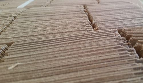 cardboard perspective texture