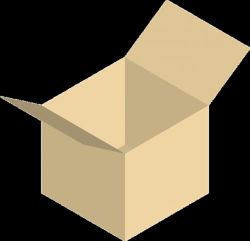 cardboard box box cube