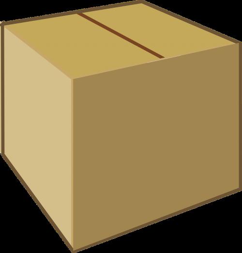 cardboard box brown box
