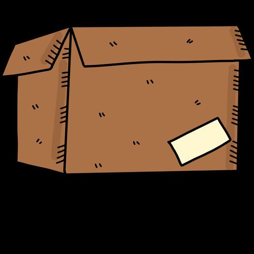 cardboard box  leaving  mo