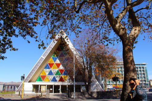 kartono katedra,miestas,ruduo,gražus,meilė,spalvinga,architektūra,pastatas,nuostabiai,christchurch,Naujoji Zelandija