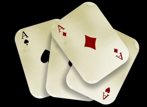 cards play aces
