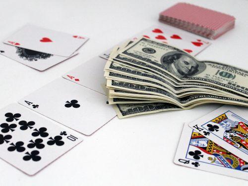 cards poker money