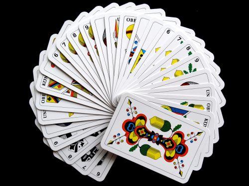 cards jass cards card game