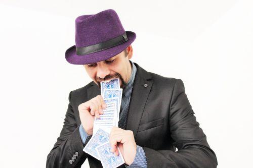 cards magic magician