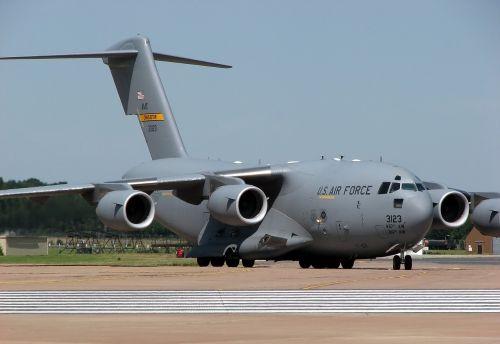 cargo plane military flying