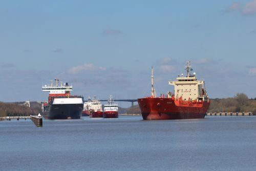 cargo ships north america nok
