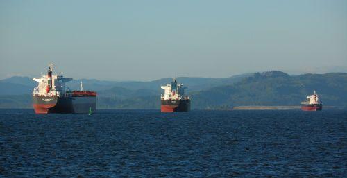 cargo ships cargo ships