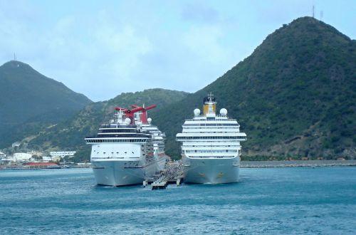 caribbean st maarten sea