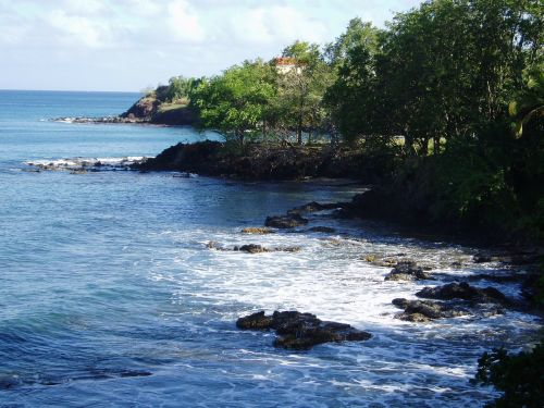 caribbean water idyll