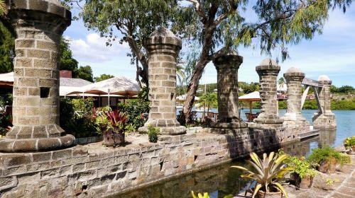 caribbean nelson's dockyard historically