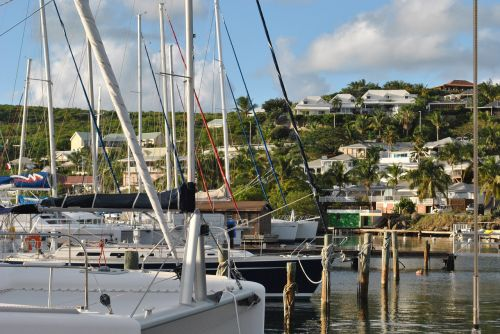 caribbean saint martin oyster pond marina