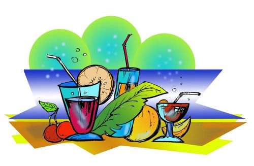 caribean flair coctail fruit