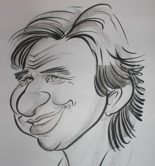 caricature portrait drawing