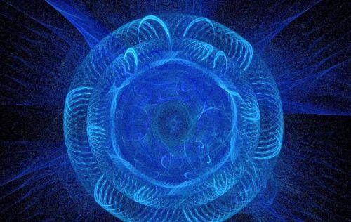 Carkish Blue Flame Fractal