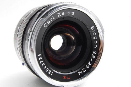carl zeiss 28mm repair record repair of lens
