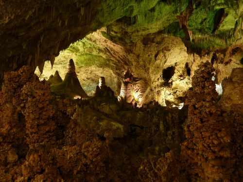 carlsbad carlsbad caverns stalactite cave