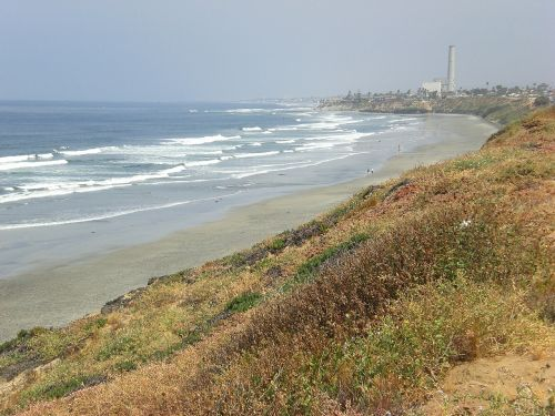 carlsbad beach waves