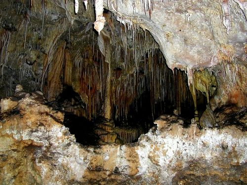 carlsbad caverns caves stalactite cave